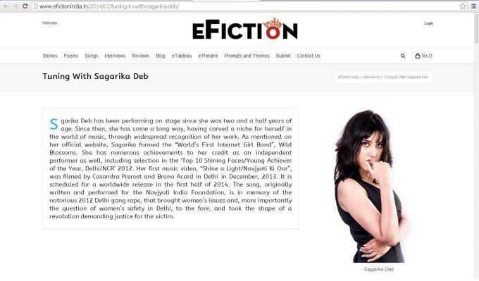 eFiction India 1